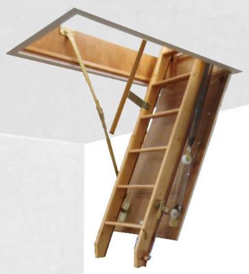 escalier grenier escamotable