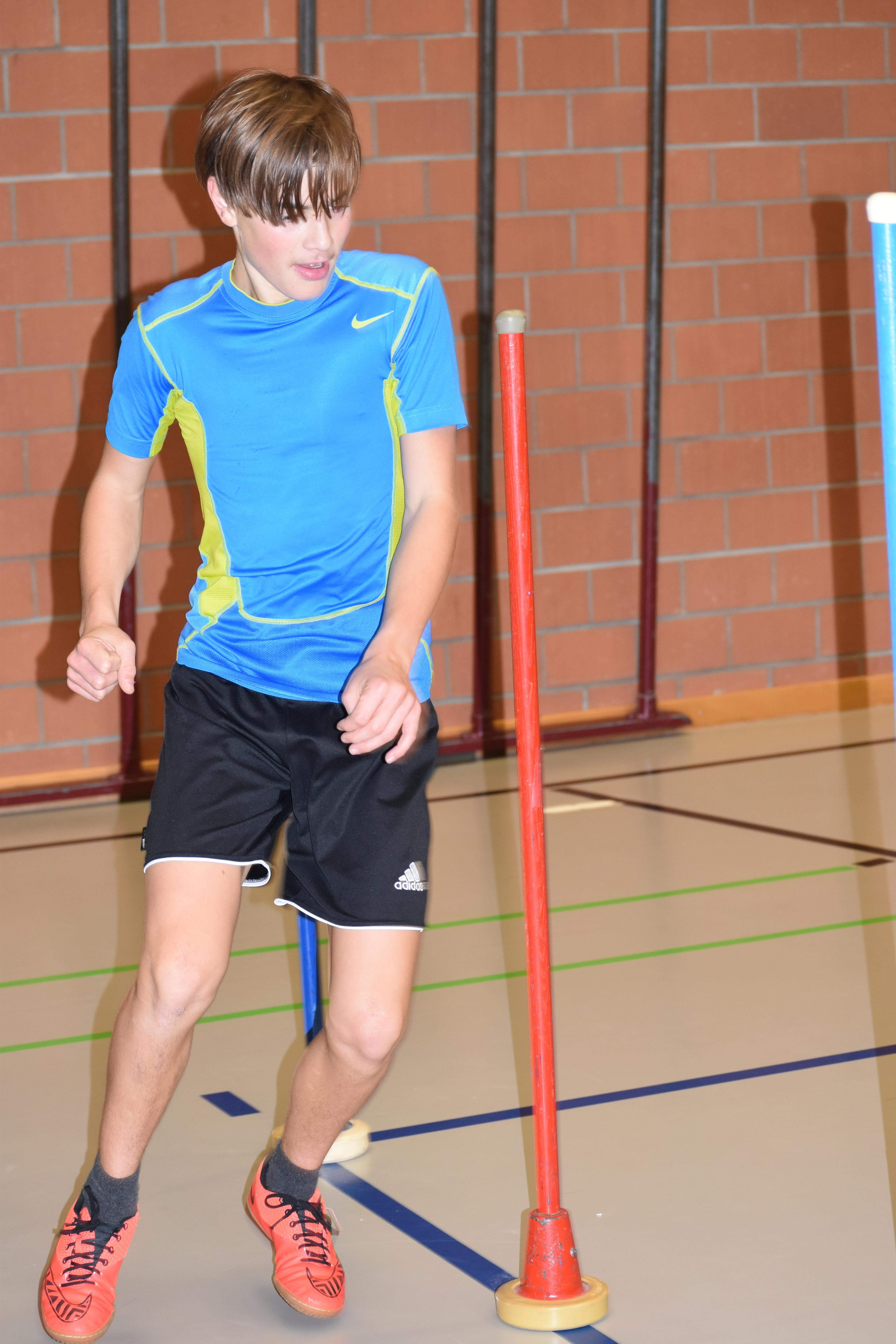 Wintertraining in der Halle