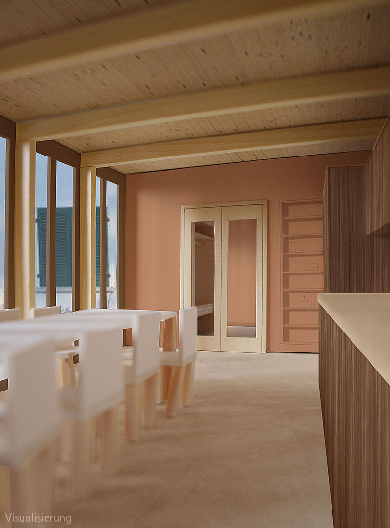 AuBergewohnlich Modell BDE Visualisierung Küche / Esszimmer