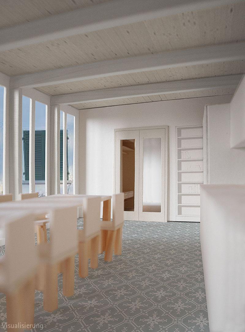 Modell BDE Visualisierung Küche / Esszimmer