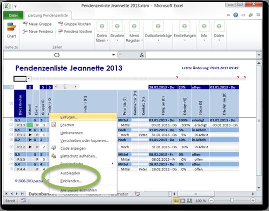 Excel Arbeitsblatt Ende Festlegen : Tipps und tricks
