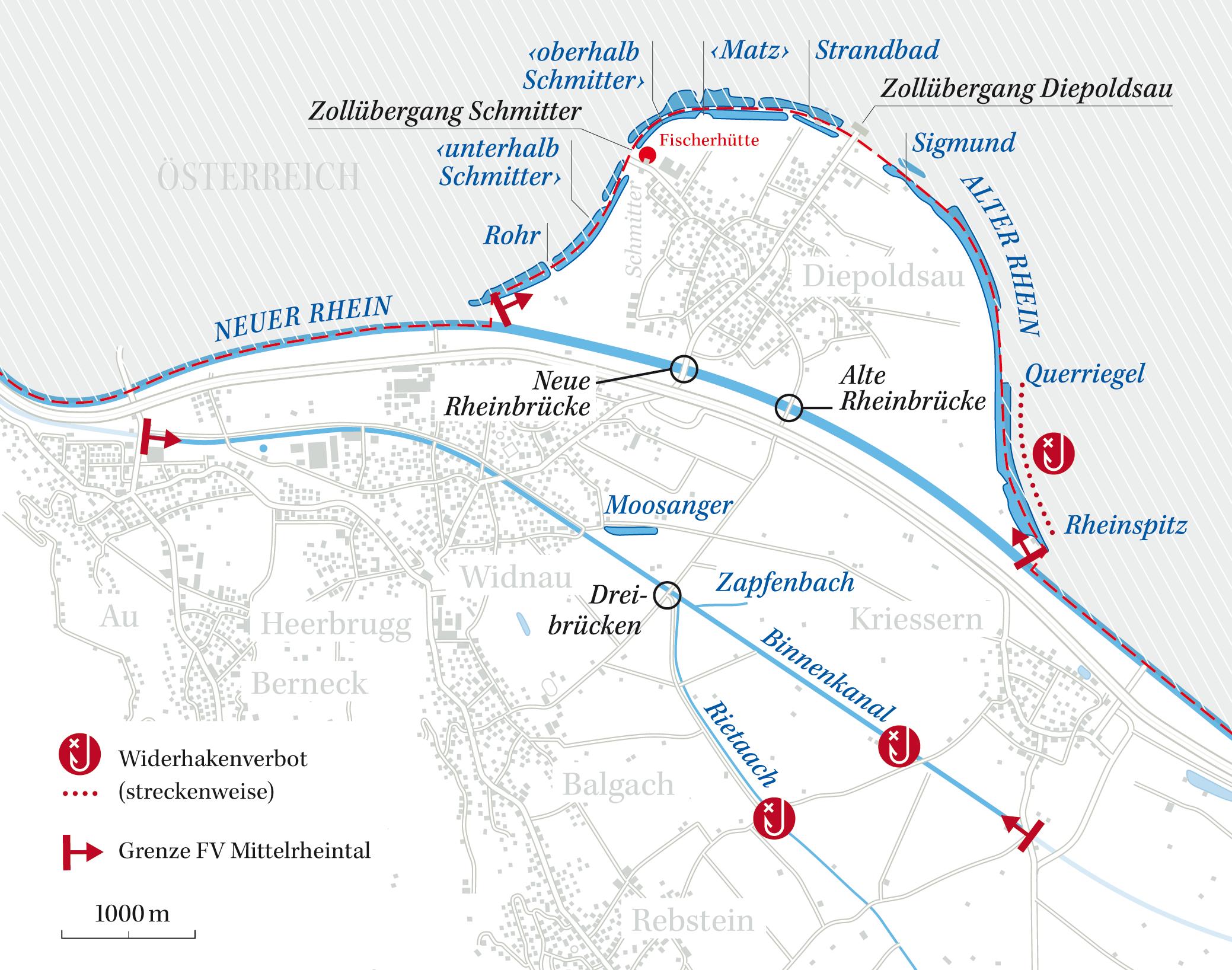 Mittelrheintal Karte.Fischereiverein Mittelrheintal