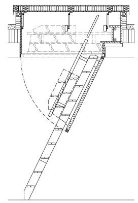 Dachausstieg Treppe flachdachausstieg modell 71 confort