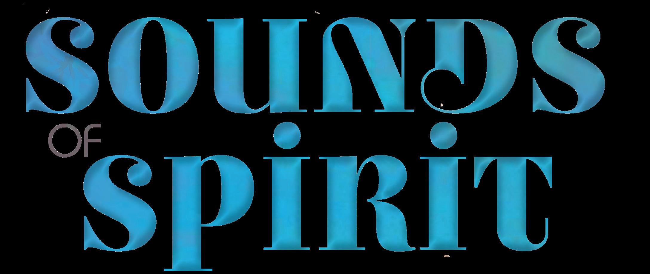 Logo Sounds of Spirit Schriftpng