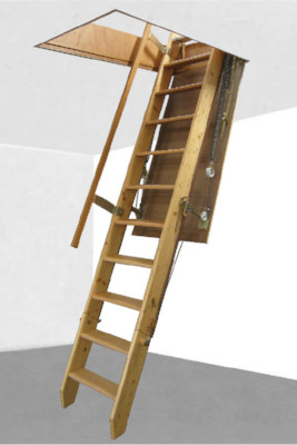 Escalier escamotable pour grenier Escalier grenier escamotable amenagee