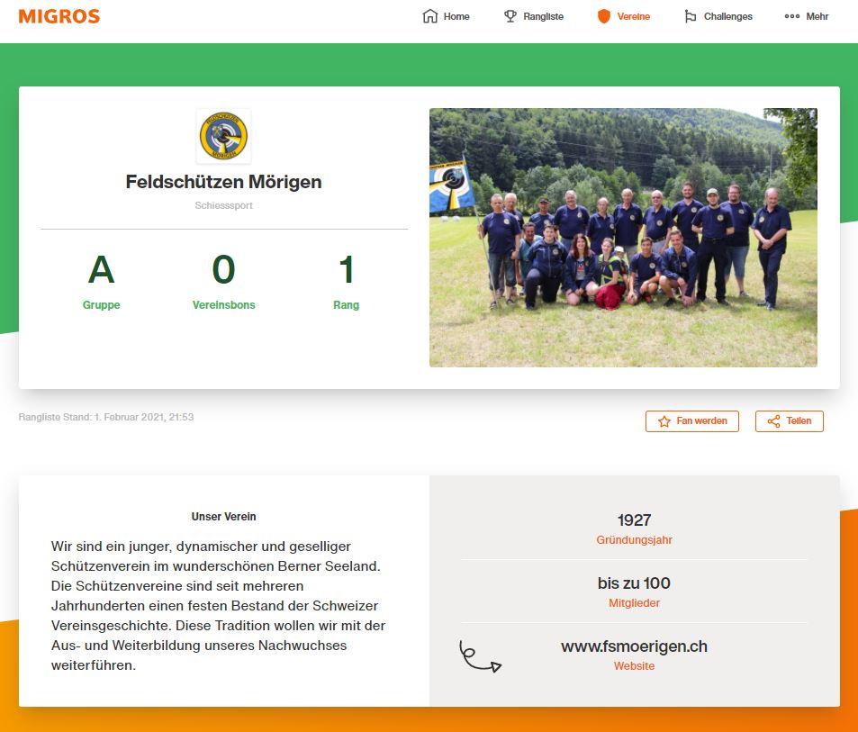 Feldschtzen Mrigen_Support your Sport_MIGROSJPG
