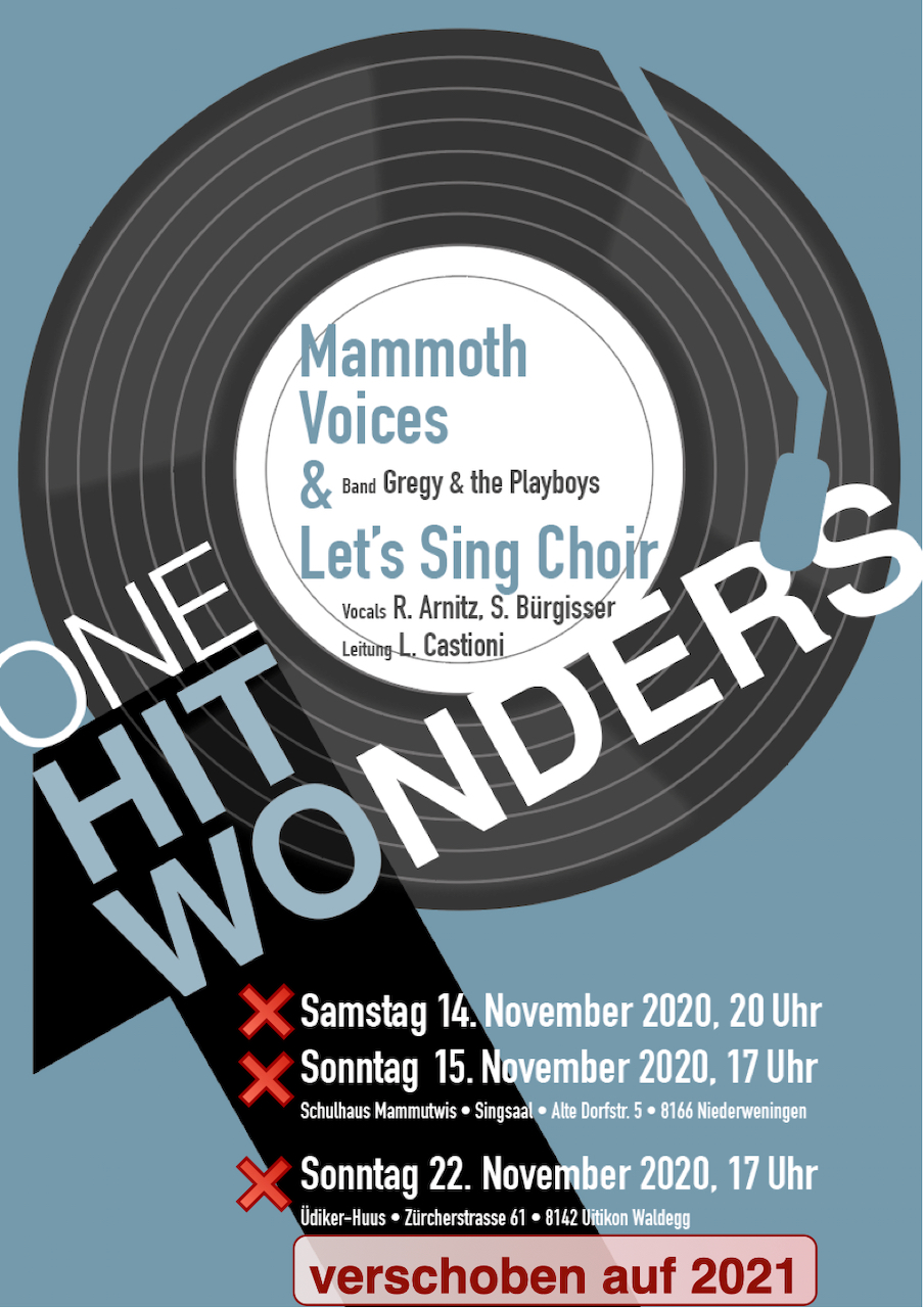 Plakat One Hit Wonders