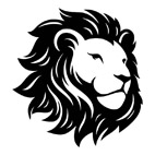 Lion_Head_black_kleinjpg