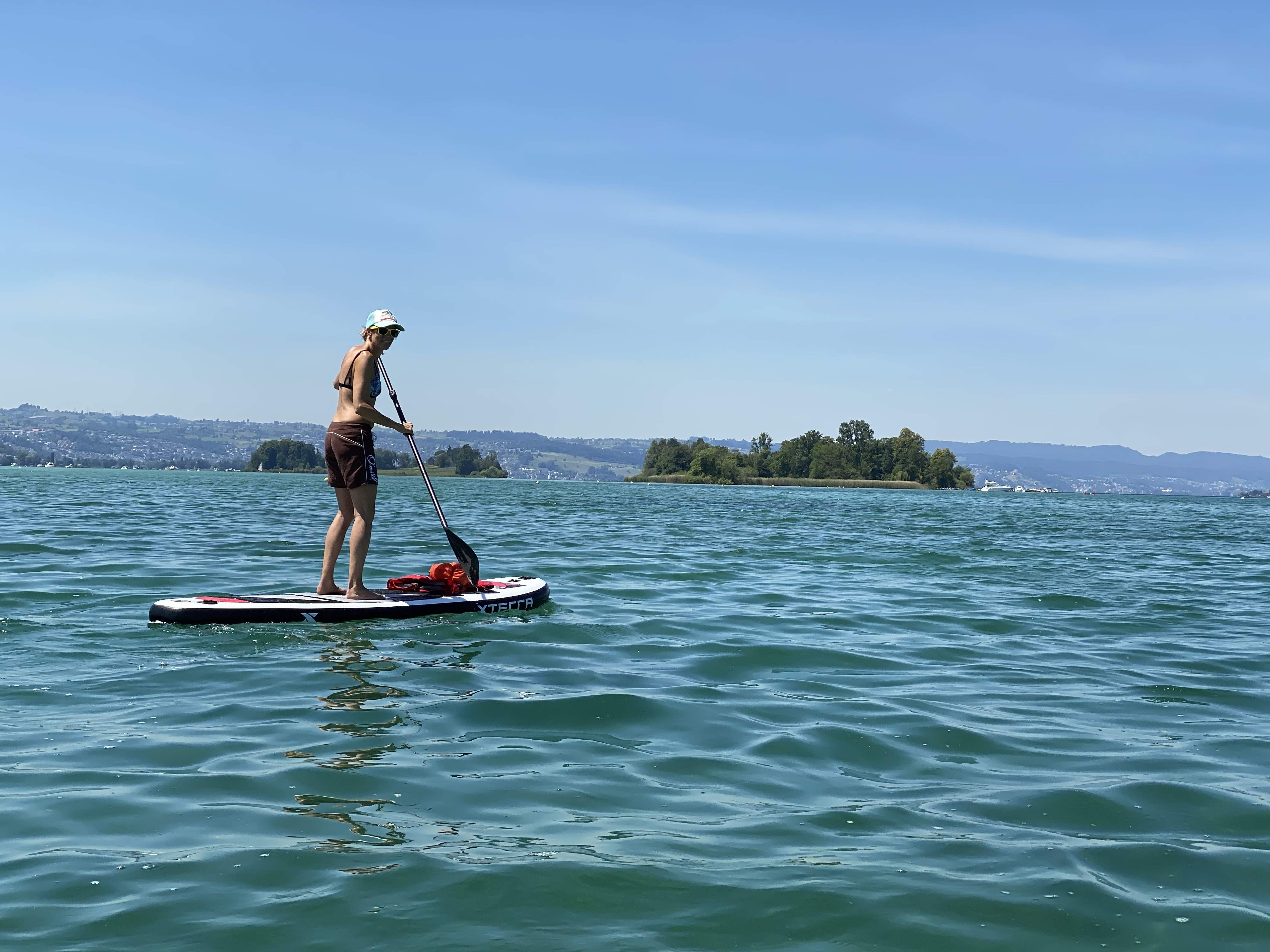 Paddle out to Lützelau